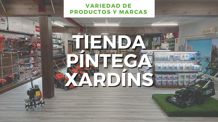 tienda pintega xardins Vigo