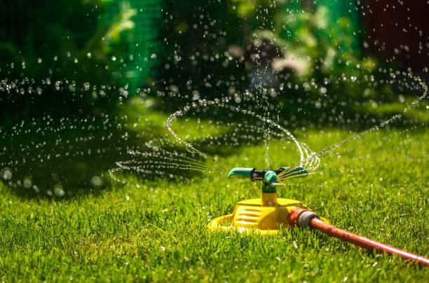 aspersor para riego de jardin